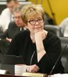 Toronto Councillor Shelley Carroll at the TTC board meeting on Monday, November 21, 2016. (Michael Peake/Toronto Sun)