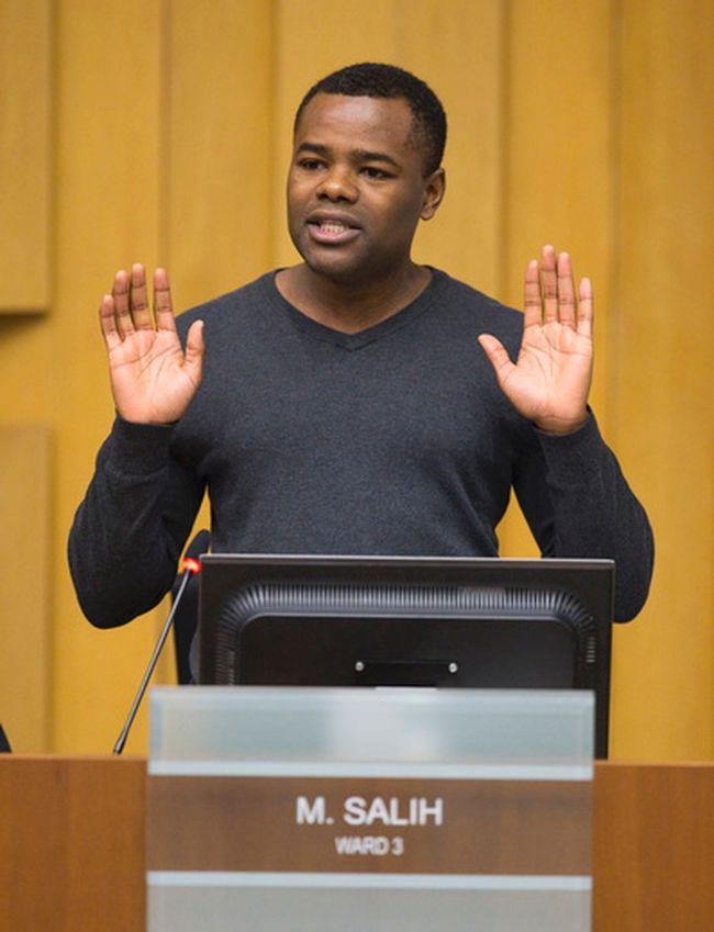 Ward 3 councillor Mo Salih (CRAIG GLOVER, The London Free Press)