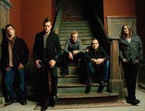3 Doors Down, with guitarist Matt Roberts (middle).