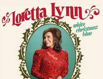 "Loretta Lynn's ""White Blue Christmas."""