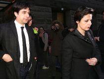 Jian Ghomeshi and  Marie Henein