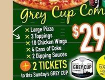 GREY CUP PIZZA