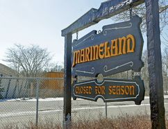 Marineland entrance, April 2015. Wednesday April 1, 2015. Mike DiBattista/Niagara Falls Review/Postmedia Network