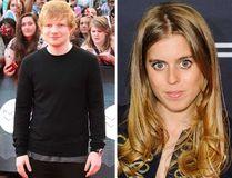 Ed Sheeran and Princess Beatrice. (Postmedia Network/WENN.COM)