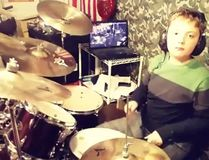 "Daniel Krilov is seen in this screengrab from his Instagram page drumming to Metallica's Hardwired... to Self-Destruct."" (djkdrums/Instagram)"