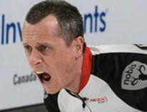 E.J. Harnden of Team Brad Jacobs
