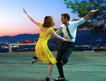 Emma Stone and Ryan Gosling dance in a scene from La La Land to Lion. (Handout Photo)