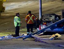 Bloor St crash