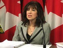 Ontario Auditor General Bonnie Lysyk at Queen's Park on Wednesday, Nov. 30, 2016 (Michael Peake/Toronto Sun/Postmedia Network)