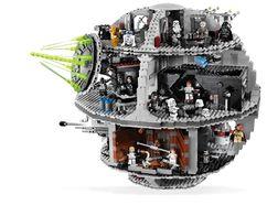 LEGO's Death Star.