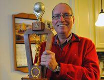 Port Dover resident Mike Goodridge was named the Ontario Amateur Softball Association Frank Feaver Memorial or 'Mr. Softball' award recipient at a banquet Nov. 26 in Oakville. JACOB ROBINSON/SIMCOE REFORMER