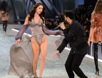 2016 Victoria's Secret Fashion Show at the Grand Palais Featuring: Bella Hadid, The Weeknd Where: Paris, France When: 01 Dec 2016 Credit: C.Smith/WENN.com