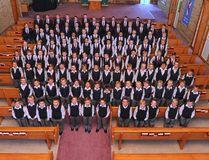 Grande Prairie Boys Choir Photo by Rob Ganzeveld