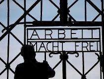 Nazi concentration camp gate