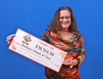 Barbara Schank of Tara won almost $80,000 in the Poker Lotto All Inn jackpot game Nov. 8. (OLG photo)
