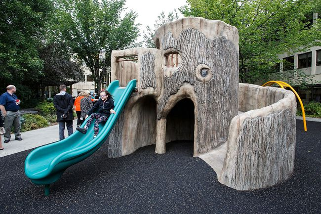Glenrose Rehabilitation Hospital playground