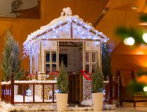 Ritz Carlton gingerbread house