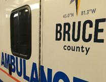 A Bruce County Paramedic Services ambulance.