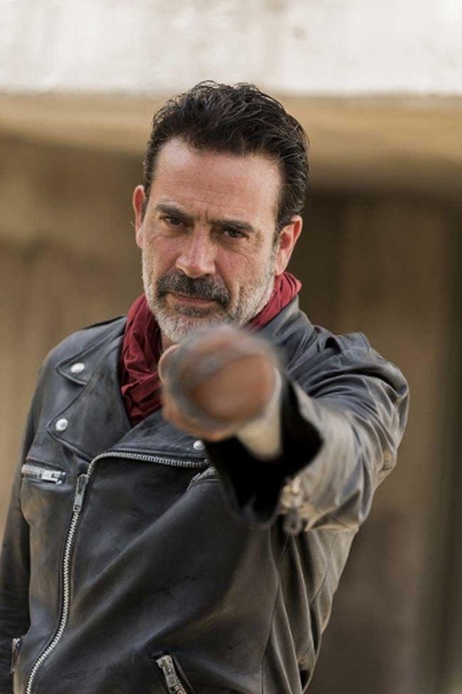 """Jeffrey Dean Morgan as Negan in """"The Walking Dead."""""""