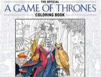 GoT colouring book