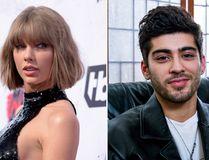 Taylor Swift and Zayn Malik. (AP file photos)