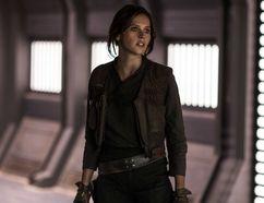 "Felicity Jones in ""Rogue One: A Star Wars Story."""