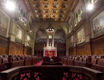 The Senate chamber in Ottawa. (The Canadian Press file photo)