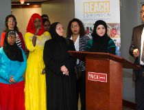 Girl power program aids Edmonton refugees