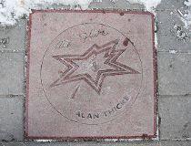 Alan Thicke's star