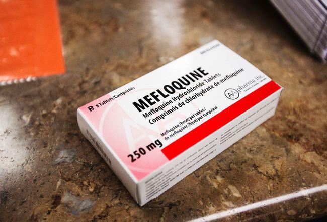 Malaria medication side effects malarone