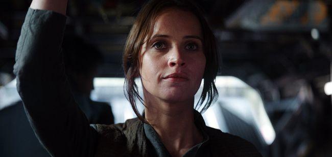 """Felicity Jones as Jyn Erso in  """"Rogue One: A Star Wars Story."""" (HO)"""