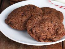 Fruit Cake Brownie Cookies.