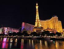View taken on December 6, 2013 shows Paris Las Vegas, a hotel and casino located on the Las Vegas Strip in Las Vegas, Nevada. (JOHN GURZINSKI/AFP/Getty Images)