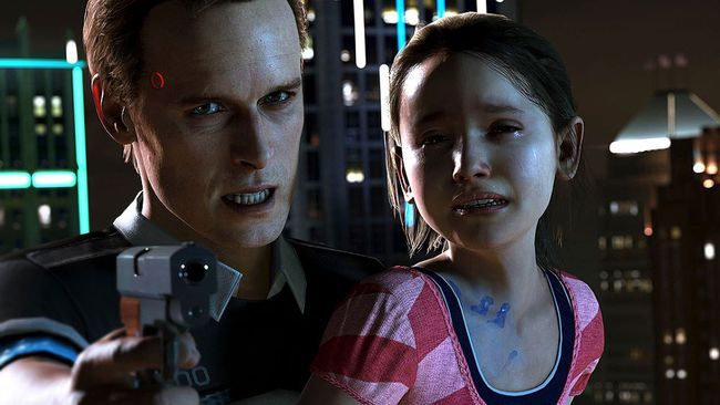 """Detroit: Become Human."" (Screenshot)"