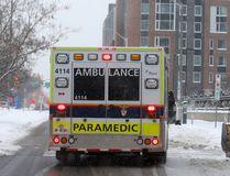 An ambulance in Ottawa.