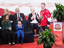 Alfredsson jersey retired
