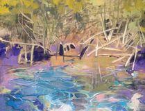 Waterline 1 by artist Carol Finkbeiner Thomas. (Photo submitted)