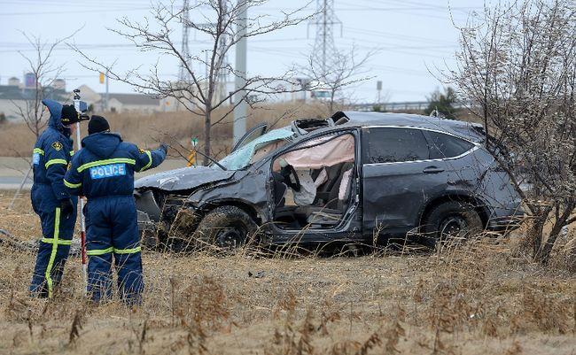 Ontario Ramp Car Accident