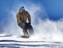Nakiska snowboarder