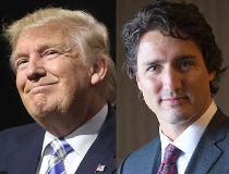 Donald Trump Justin Trudeau