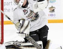 TGH netminder Chris Janzen is the OJHL Goaltender of the Month for December. (OJHL Images)