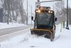 Snow plow in Ottawa.
