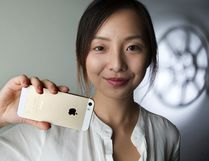 Western University student Lin Shi has organized the Western University Smartphone Film Festival. She was photographed in London. (DEREK RUTTAN, The London Free Press)