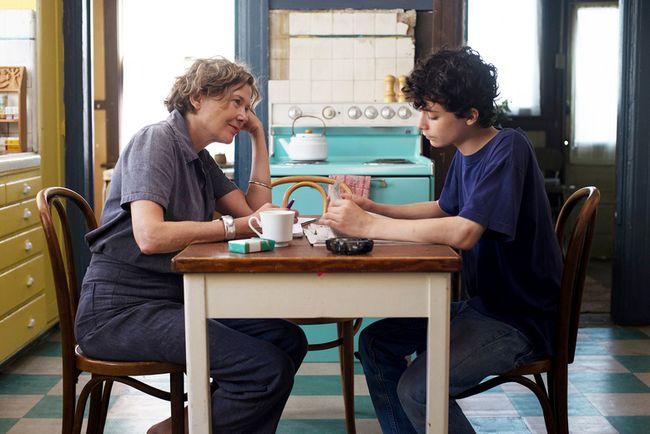Annette Bening and Lucas Jade Zumann in '20th Century Women.' MUST CREDIT: Merrick Morton, A24