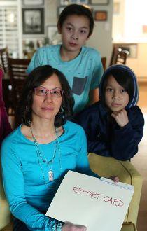Carolyn Chin report cards