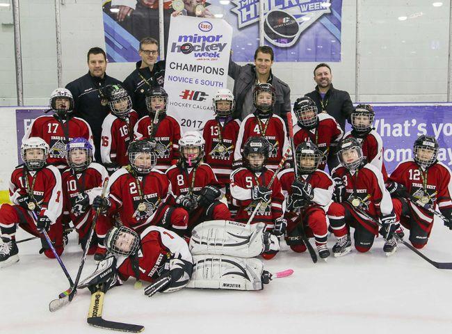 Champions Crowned In Esso Minor Hockey Week Hockey