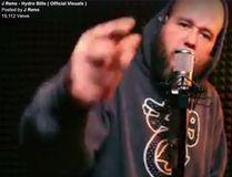 Rapper J Reno (Facebook video screen grab)