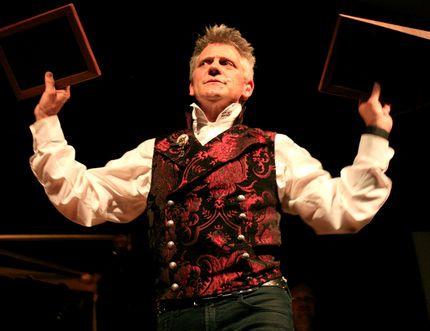 Veteran illusionist Lawrence Larouche brings his Majinx show to Korah Collegiate and Vocational School on Jan. 28. (Supplied Photo)