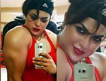 "Shirin Nobahari, a bodybuilder in Iran, was arrested by police because her selfies were slammed as ""nudes."" (Instagram)"