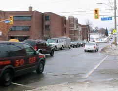Algonquin Avenue at Front Street